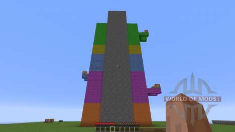 Parkour tower for Minecraft