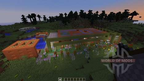 Modern Prarie House for Minecraft