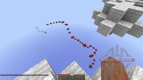 Through the Skies Parkour Race for Minecraft