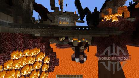 Prison of the Nether Monsters for Minecraft