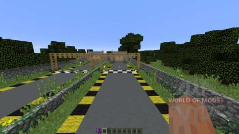 Minecraft Drag Racing for Minecraft