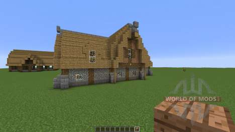 A Medieval Inn for Minecraft