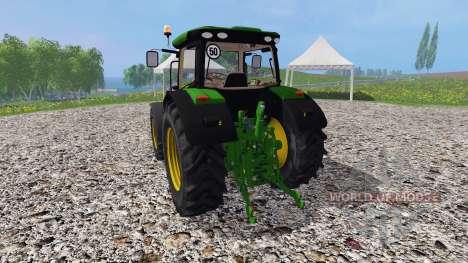 John Deere 6170R v3.0 for Farming Simulator 2015