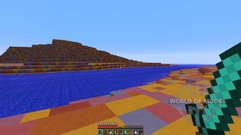 Candyland Custom terrarin for Minecraft