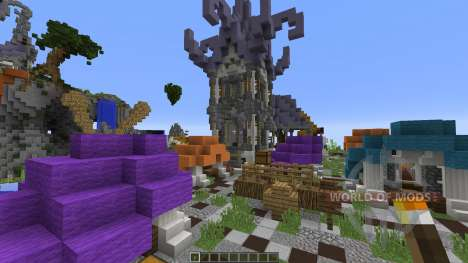 Kit PvP Map ByteCube for Minecraft
