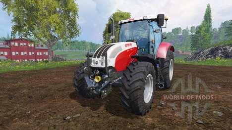 Steyr CVT 6130 EcoTech v2.0 for Farming Simulator 2015