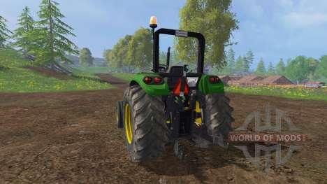 John Deere 5055 v2.0 for Farming Simulator 2015
