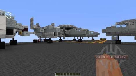 USS Enterprise CVN65 for Minecraft