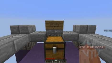 SkyChunk: Survival on 14 little chunks for Minecraft