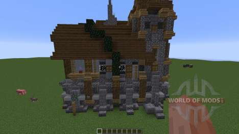 A Medieval Manor for Minecraft