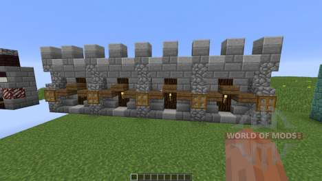 Custom Wall Pack for Minecraft