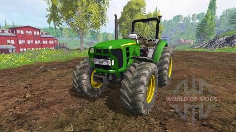 John Deere 5055 for Farming Simulator 2015