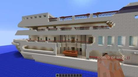 Luxury Yacht for Minecraft