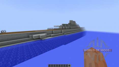Surcouf Class Submarine [1.8][1.8.8] for Minecraft