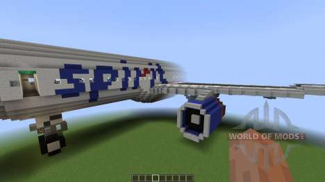 Airbus A320SL Spirit Airlines [1.8][1.8.8] for Minecraft