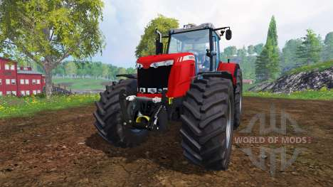 Massey Ferguson 8737 [fixed] for Farming Simulator 2015
