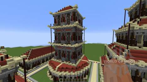 Village of the Red Clay Build Pack Review for Minecraft
