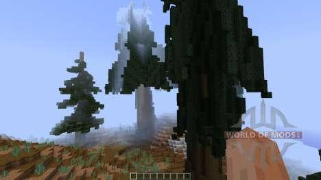 Pine island [1.8][1.8.8] for Minecraft