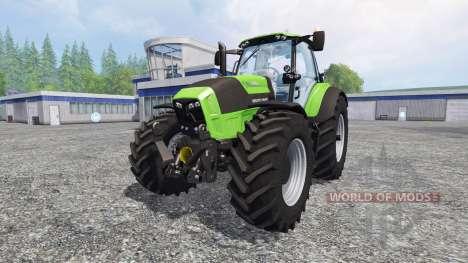 Deutz-Fahr Agrotron 7250 TTV v3.0 for Farming Simulator 2015