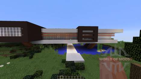Avalon a modern contemporary home for Minecraft