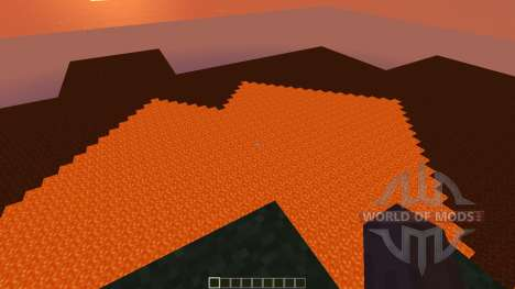 Ultimate Creative World lava for Minecraft