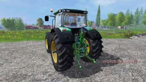 John Deere 6210R v1.1 for Farming Simulator 2015