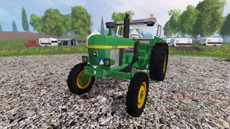 John Deere 3135 for Farming Simulator 2015