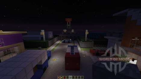 Call Of Duty Block Ops 2 NukeTown for Minecraft