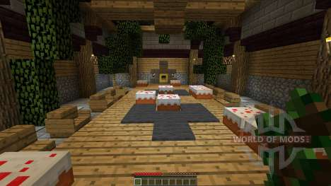 Floating Blitz GamesLobby [1.8][1.8.8] for Minecraft