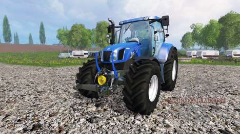 New Holland T6.175 v2.0 for Farming Simulator 2015