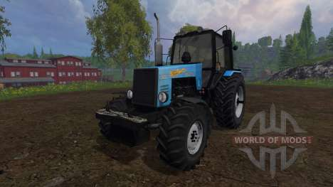 MTZ-1221 Belarusian v4.0 for Farming Simulator 2015