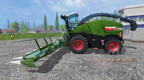 Fendt Katana 65 v2.0 for Farming Simulator 2015