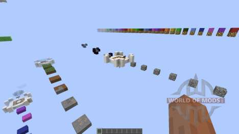 Unsual Parkour [1.8][1.8.8] for Minecraft