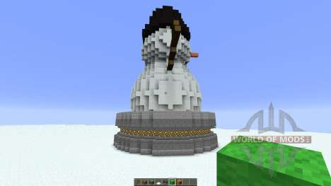 Cute Snowman for Minecraft