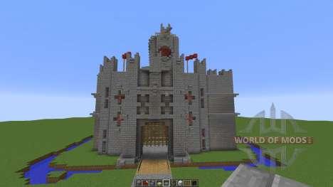 Charleston Castle for Minecraft