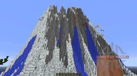Sáaret 2k Custom Terrain for Minecraft