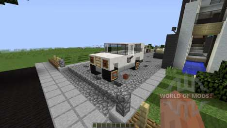 Phased Modern house [1.8][1.8.8] for Minecraft