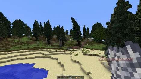 Amtal island for Minecraft