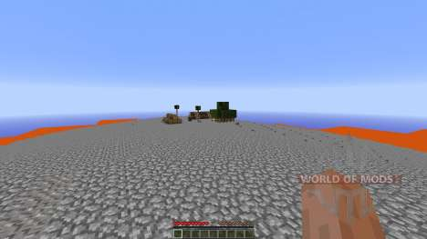 Extreme Lava islands survival for Minecraft