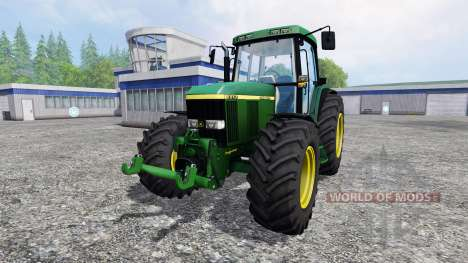 John Deere 6910 for Farming Simulator 2015