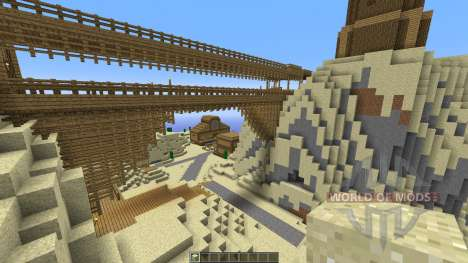 Western City for Minecraft