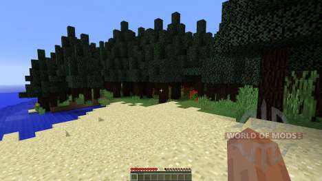 Wonderful map for Minecraft
