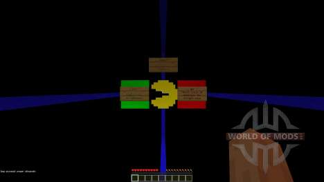 Pacman Map [1.8][1.8.8] for Minecraft
