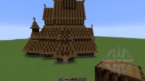 Borgund Stave Church for Minecraft