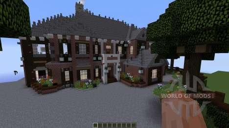 Brick Mansion for Minecraft