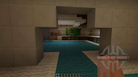 Modern Minecraft Mansion for Minecraft