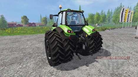 Deutz-Fahr Agrotron 7250 TTV front loader for Farming Simulator 2015
