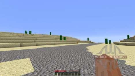 Arizona Custom Terrain test Hoodoo Desert for Minecraft
