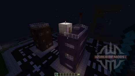 Railroad town [1.8][1.8.8] for Minecraft