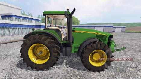John Deere 8220 v2.0 for Farming Simulator 2015